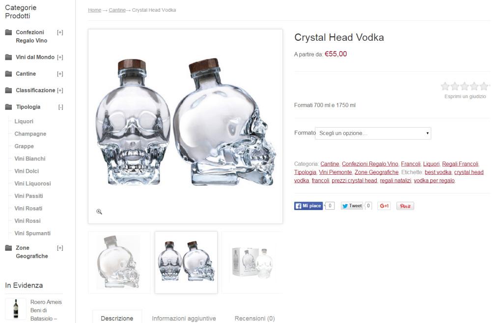 Futuro diVino - Alcoolici Negozio Online Realizzazione Marketing