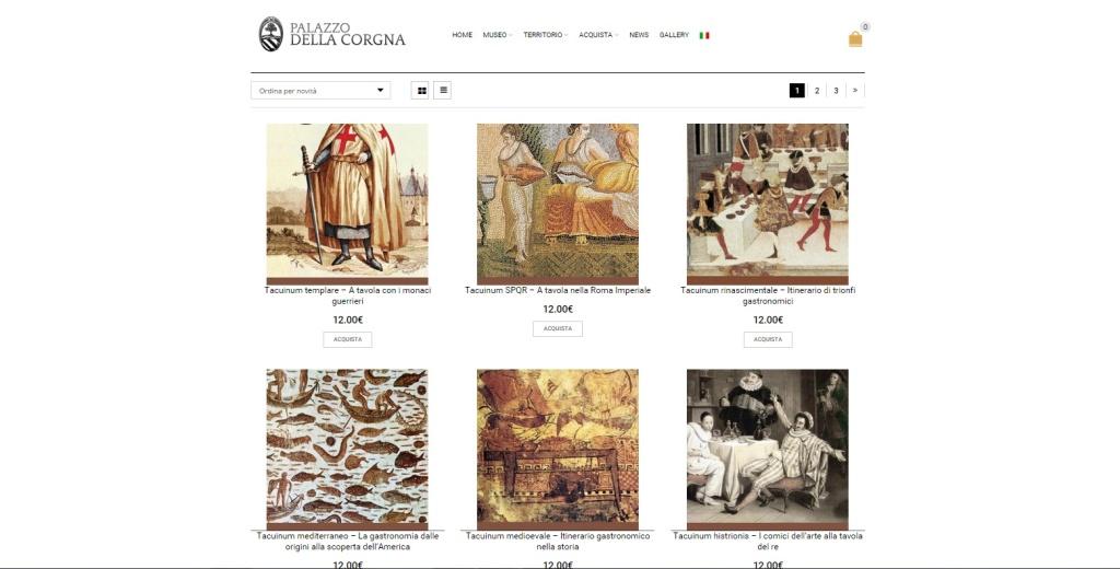 Palazzo della Corgna shop online