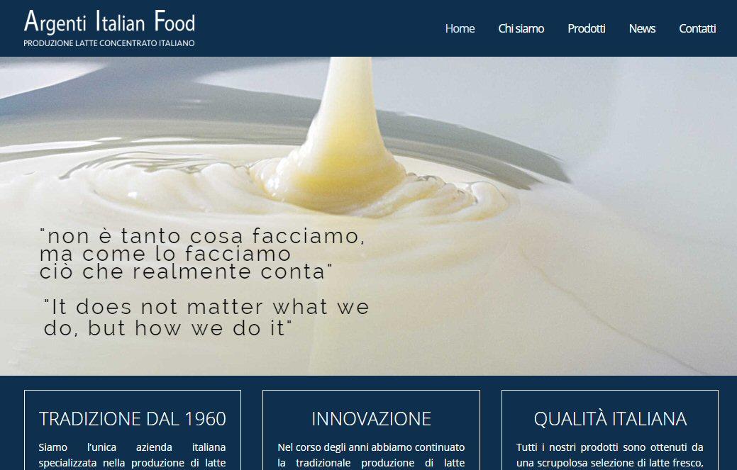 Argenti Italian Food 1