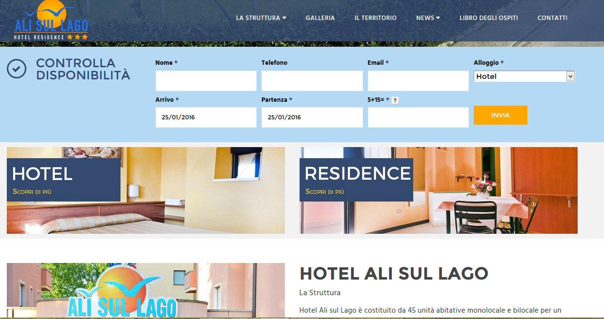 Hotel ali sul lago 2