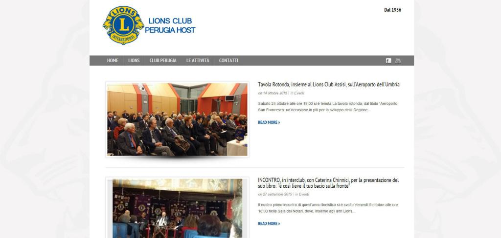 Lions Club Perugia aggiornamento blog e notizie con eventi LQ
