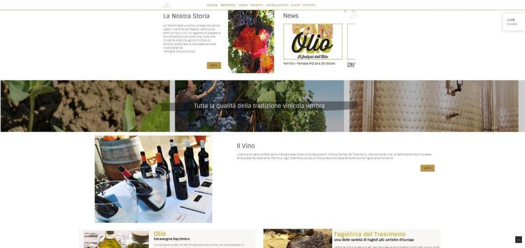 Madrevite realizzazione sito web cantina prodotti enogastronomici LQ