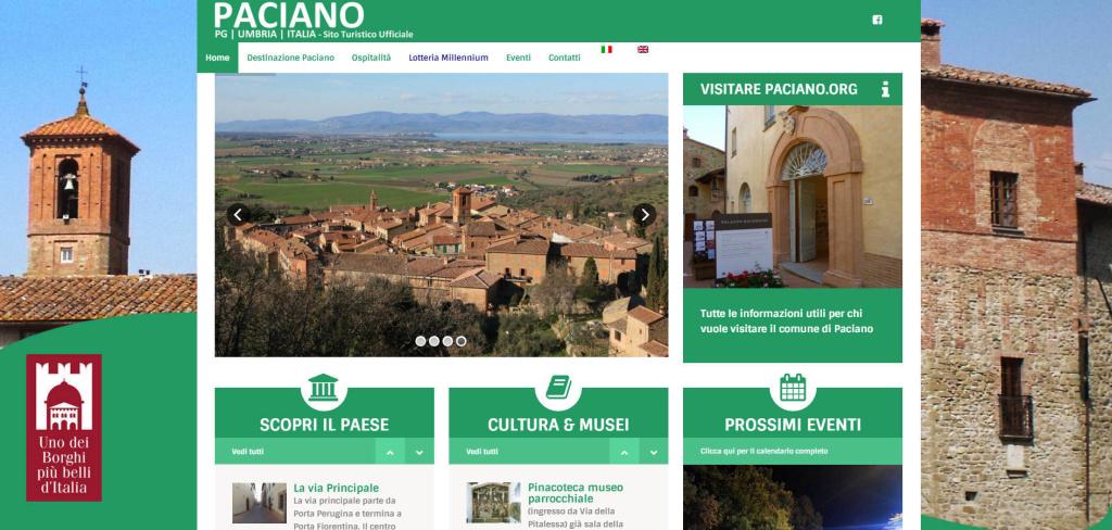 Paciano creazione portale turistico per comuni sito web responsive retina multilingua LQ