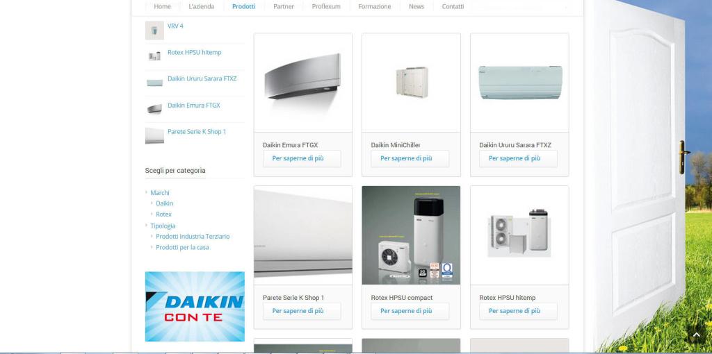 Sipi Forniture - Realizzazione Sito Web Energia LQ
