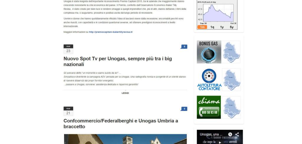 UnoGas Umbria Energia Clienti blog gestione LQ