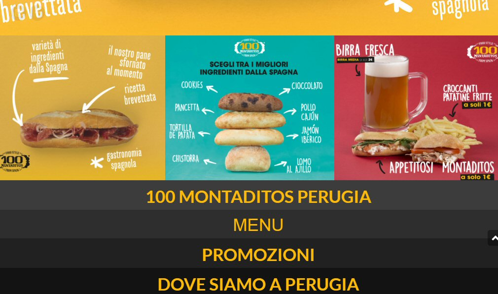 100 Montaditos Perugia 1