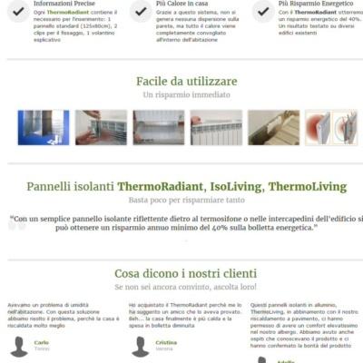 Landing Page Cappotto Termico Italiano