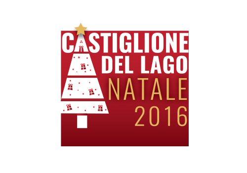 Natale a Castiglione del Lago Logo