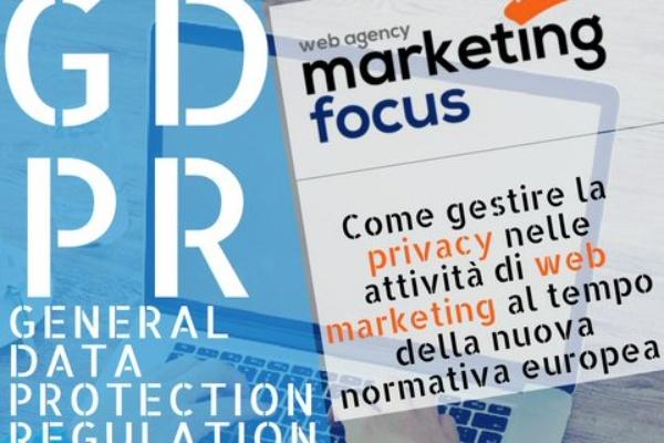 5e91b90234ef GDPR  il web marketing al tempo della nuova normativa privacy