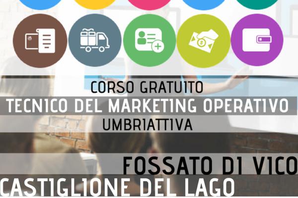 Corso Gratuito Tecnico Marketing Operativo Umbriattiva - Logo