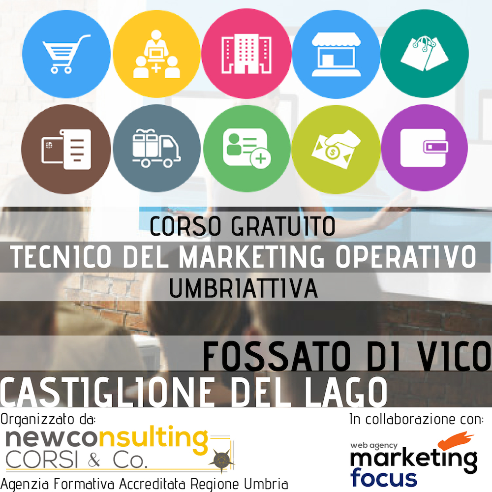 Corso Gratuito Tecnico Marketing Operativo Umbriattiva - Logo