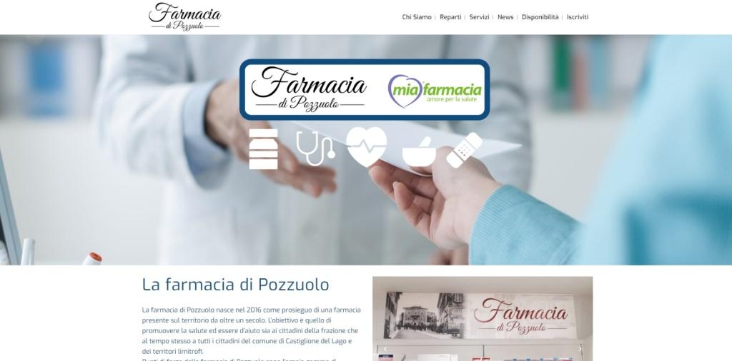 Sito web farmacia di Pozzuolo