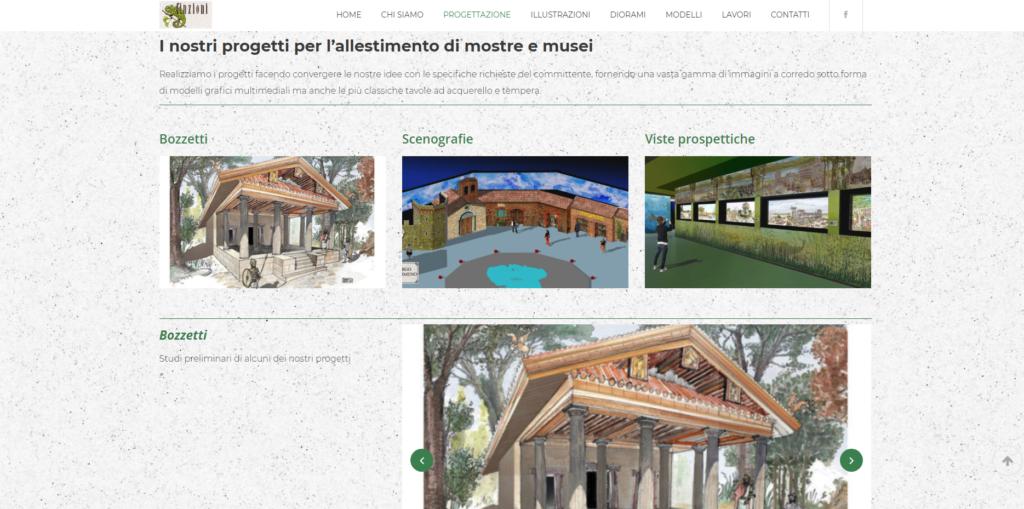 Finzioni Exhibits | Allestimenti museali, Diorami, Modelli e Illustrazioni