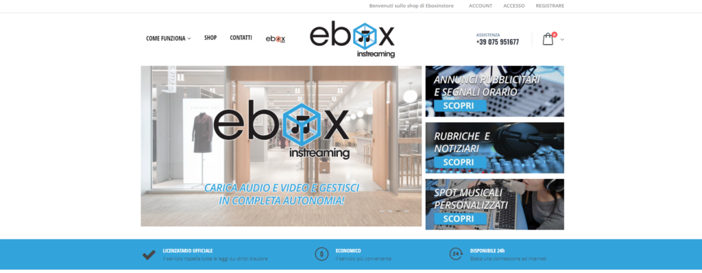 Shop Ebox in streaming Home