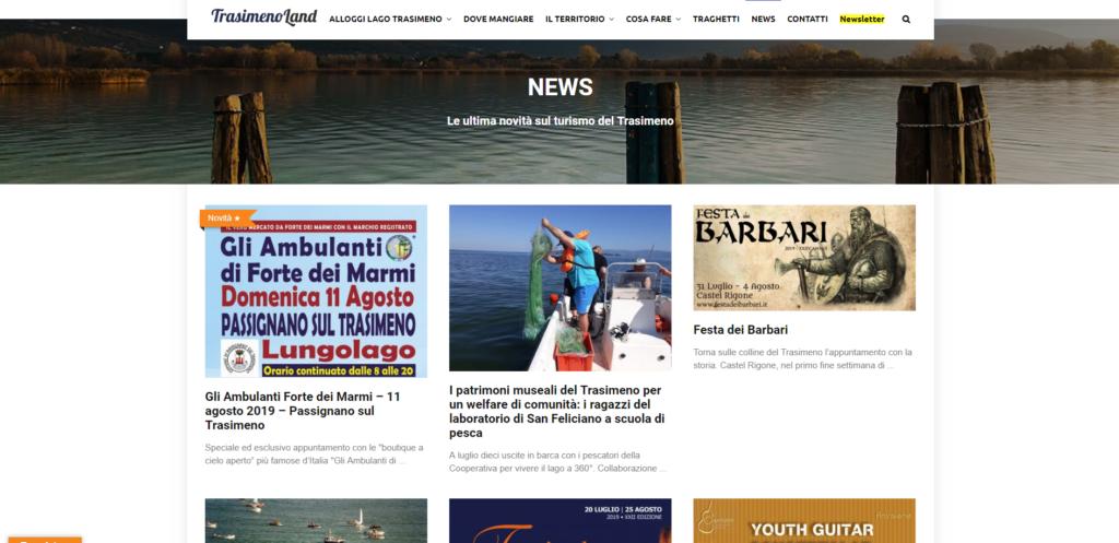 Trasimeno Land blog